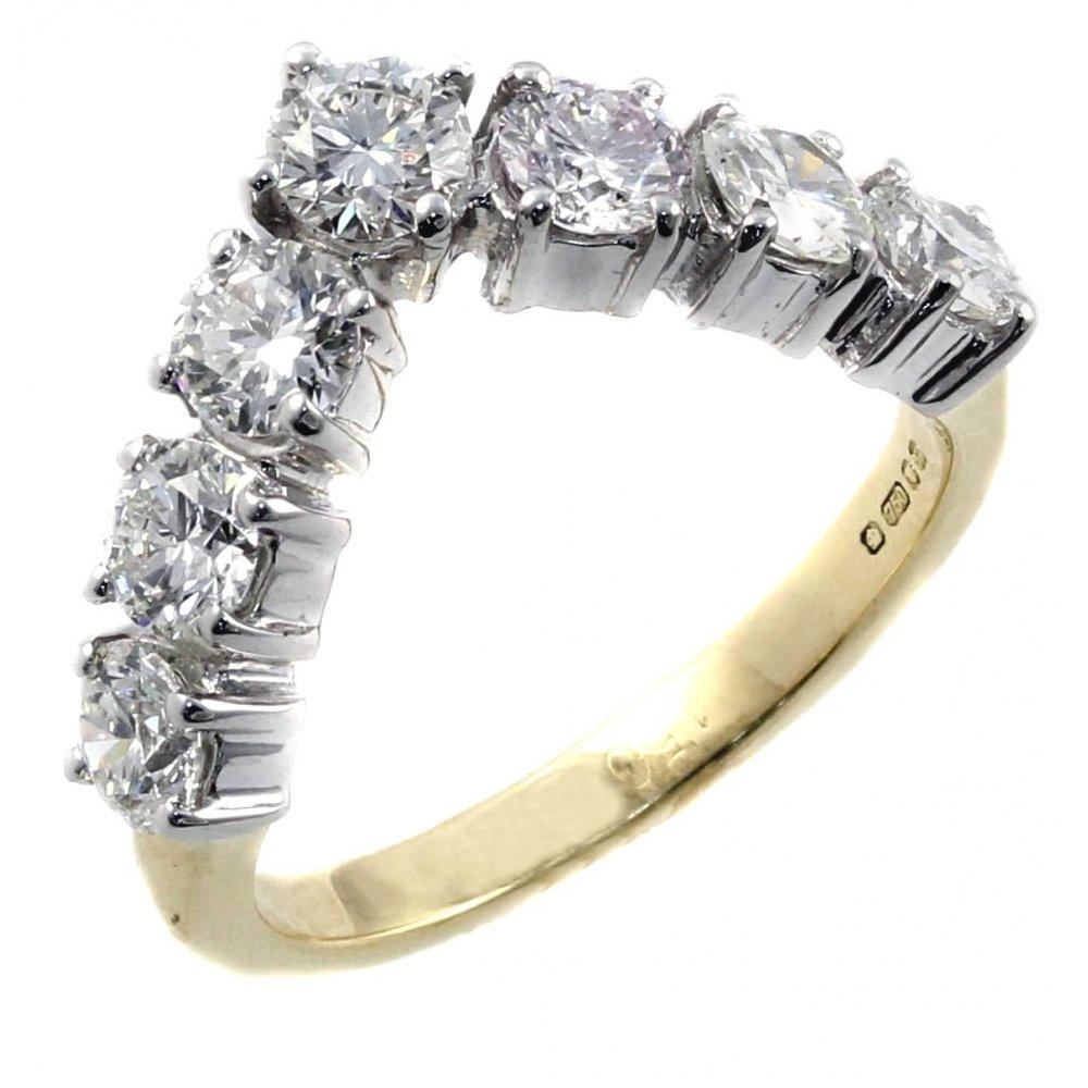 Wishbone Gold Ring