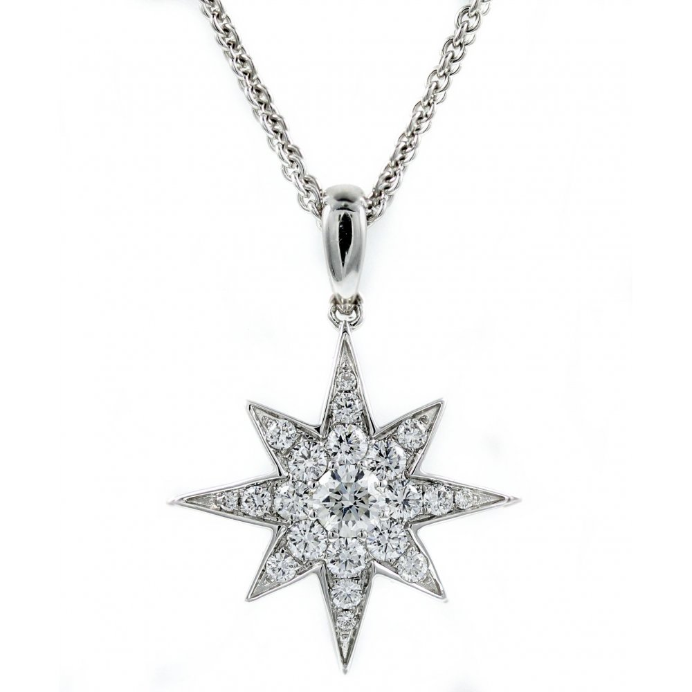 star with co product silver pendant shape necklace earrings matching