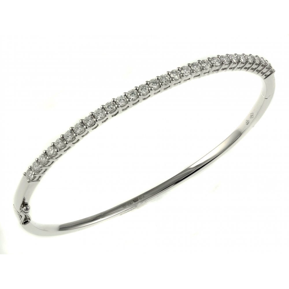 a diamond delicata view bangle