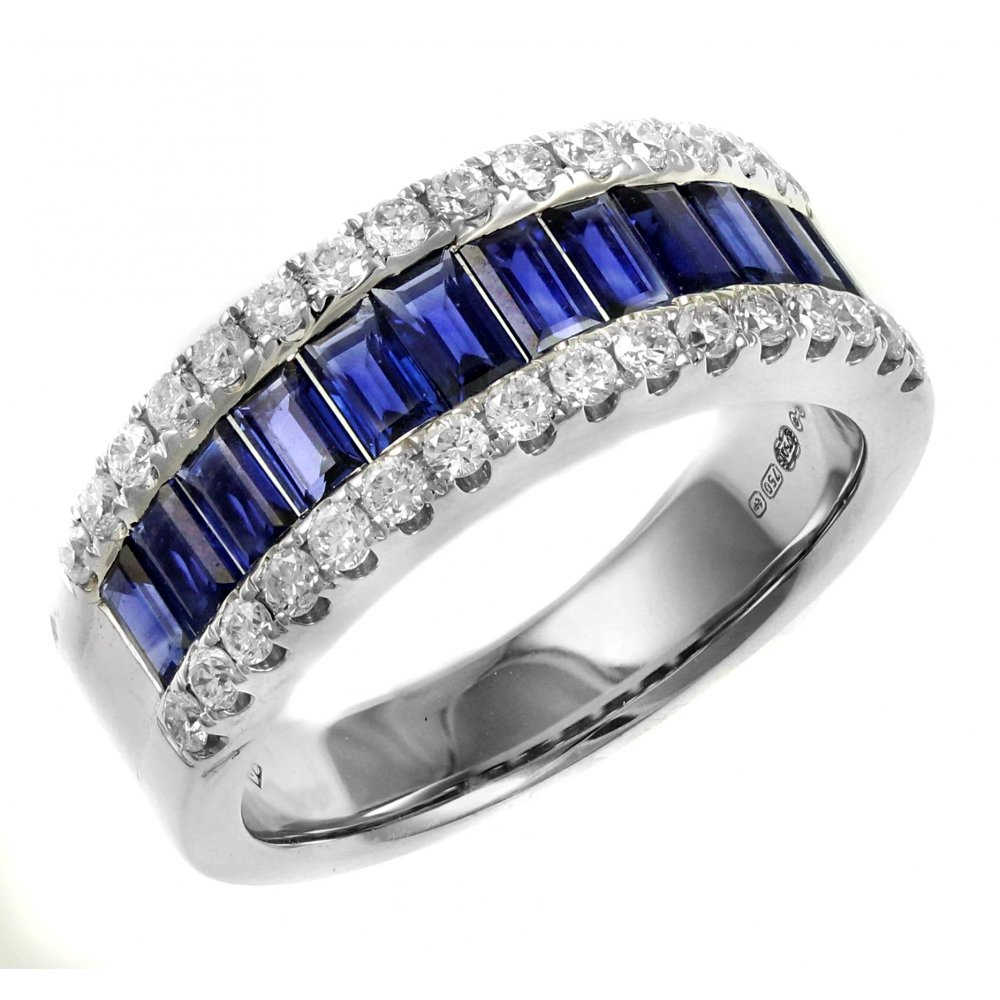 18ct White Gold 1 65ct Shire 0 52ct Diamond Eternity Ring