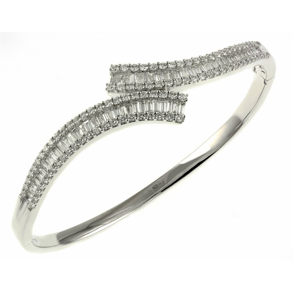 triple diamond designer flynn bracelet twist zoom fly bangle twistonline bracelets pat bangles com nail