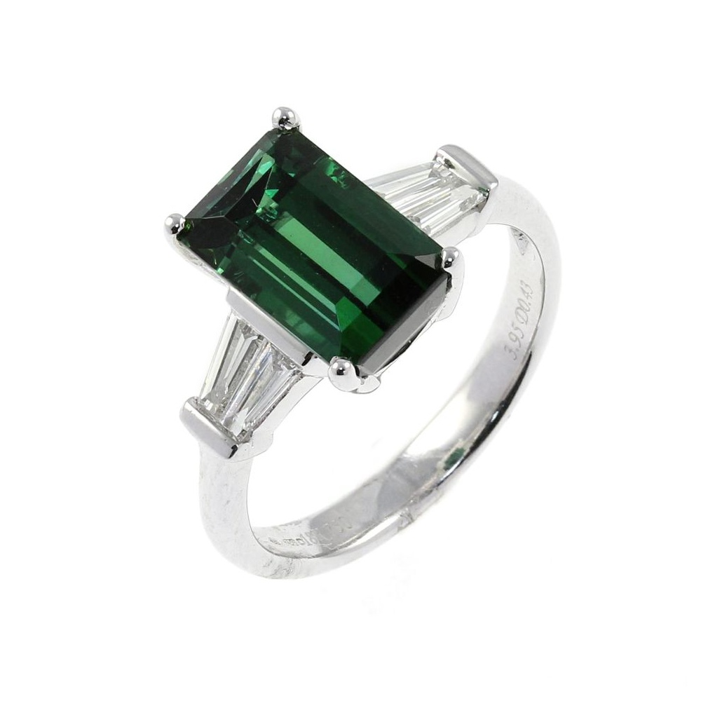 maine tw diamonds tourmaline engagement green rings ring gold in with white