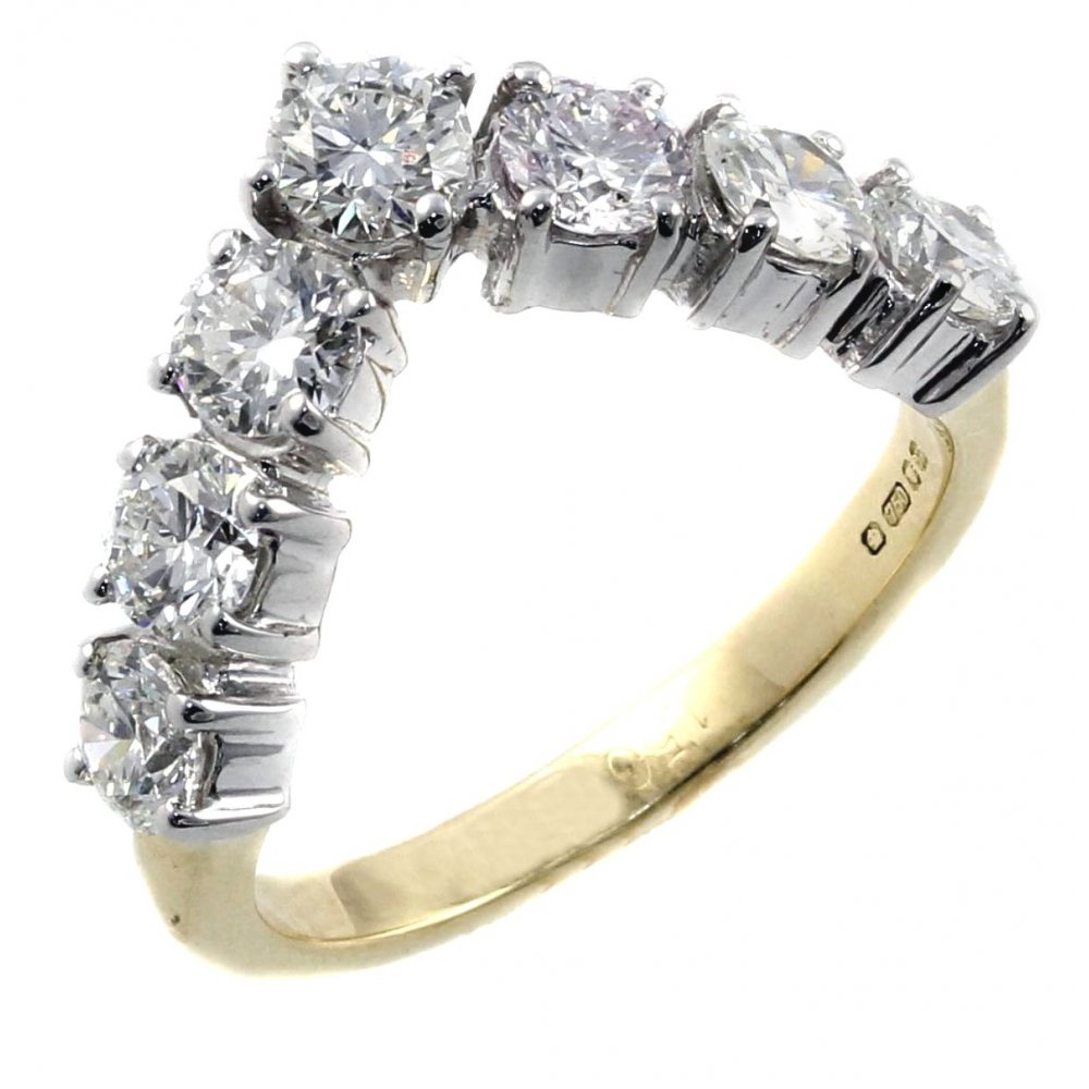 stone f certified twt e d rings gold cluster white diamond in ct ring