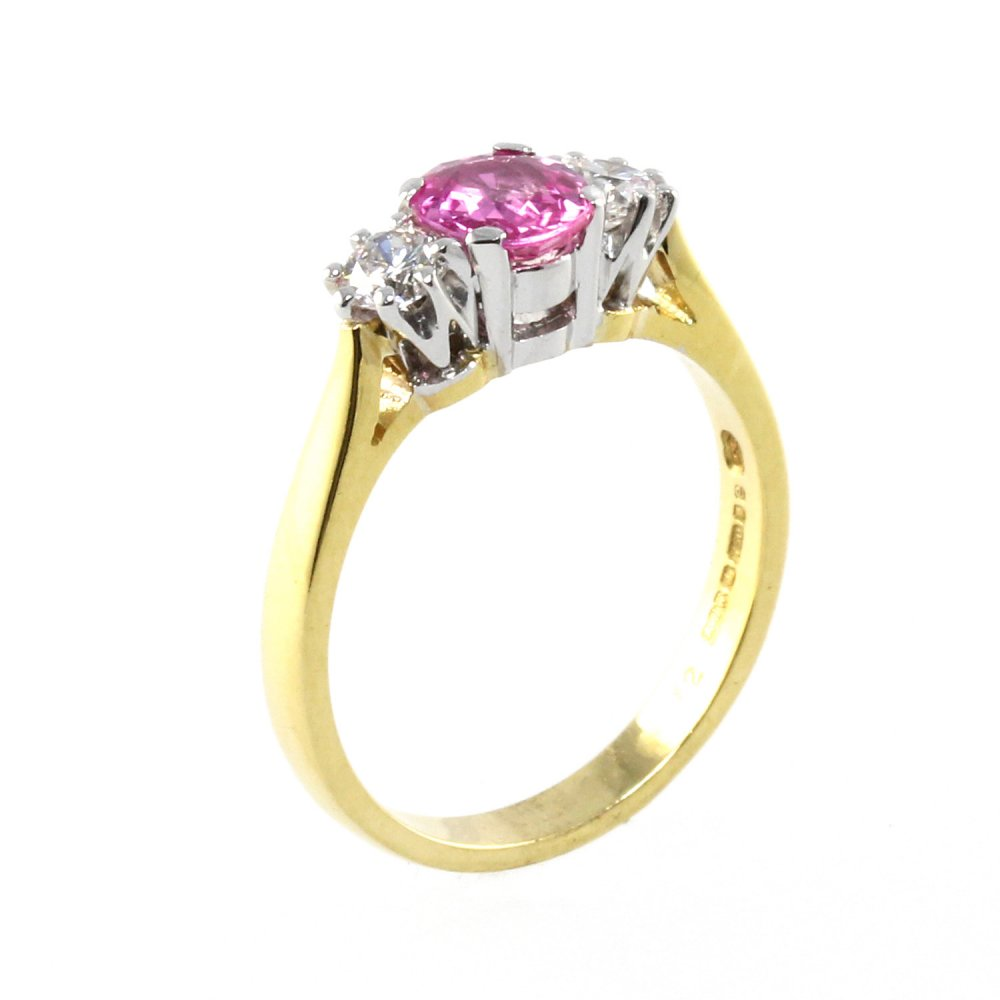 rings stacking fullxfull collections original red solid il in gold pink ring gemstone products sapphire