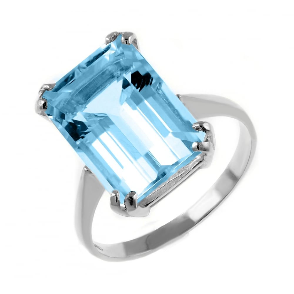 topaz shop ring p zirconia in sterling blue and silver cubic rings