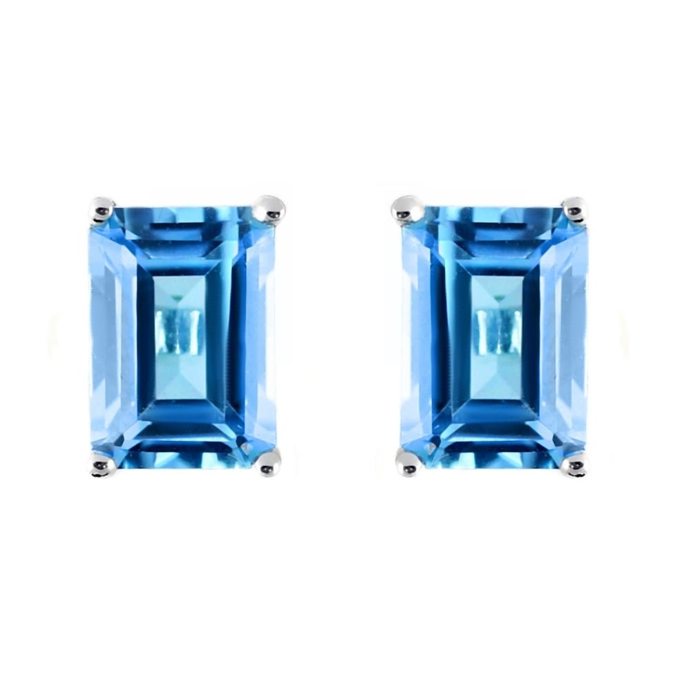 by and original earrings tear topaz drop product silver blue stud embers gemstone