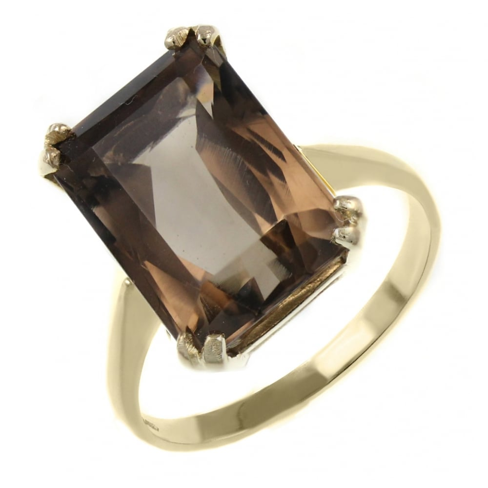 Antique Topaz Gold Ring