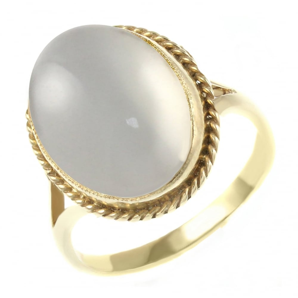 Moonstone Gold Ring For Sale