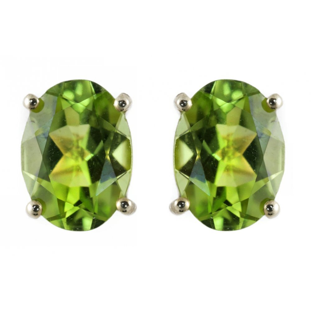 image earrings yellow gifts in stud peridot jewelry p birthstone gold default