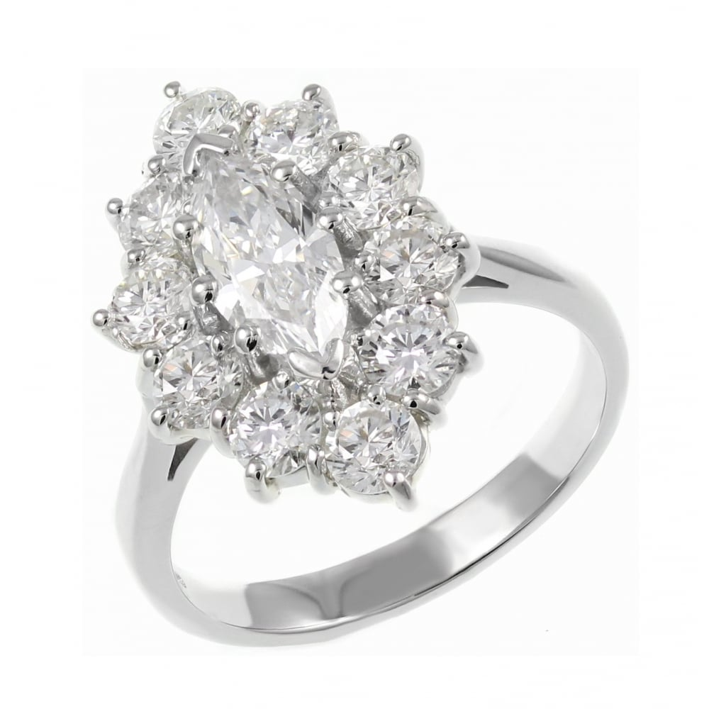interwoven marquise diamond prong engagement enr pave white platinum bands ring round four gold brilliant