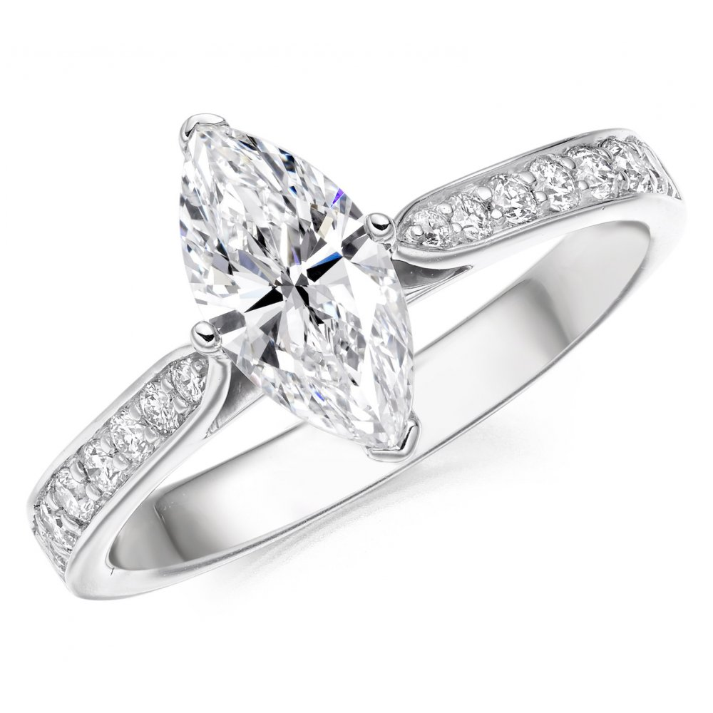 platinum round f gia ring image brilliant diamond engagement cut certificated