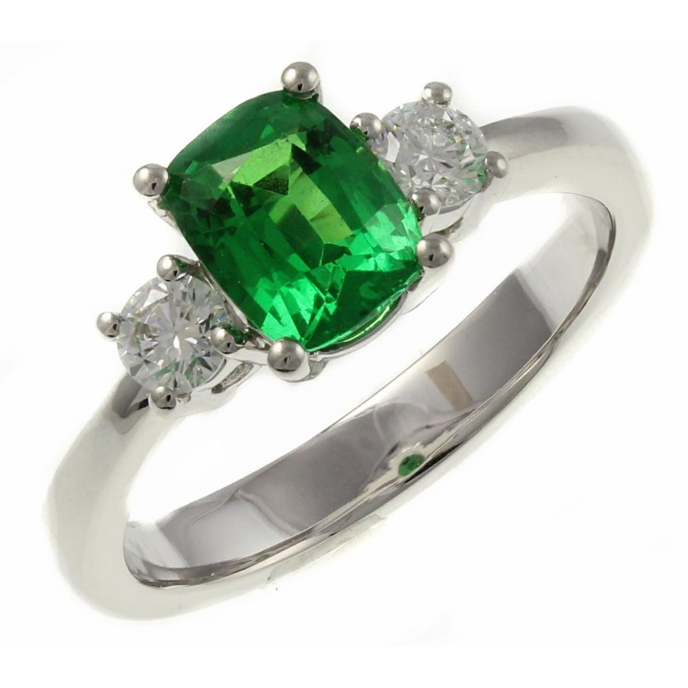 aros designer pave supplier tsavorite ct black product jewelry silver wholesale ring diamond gemstone