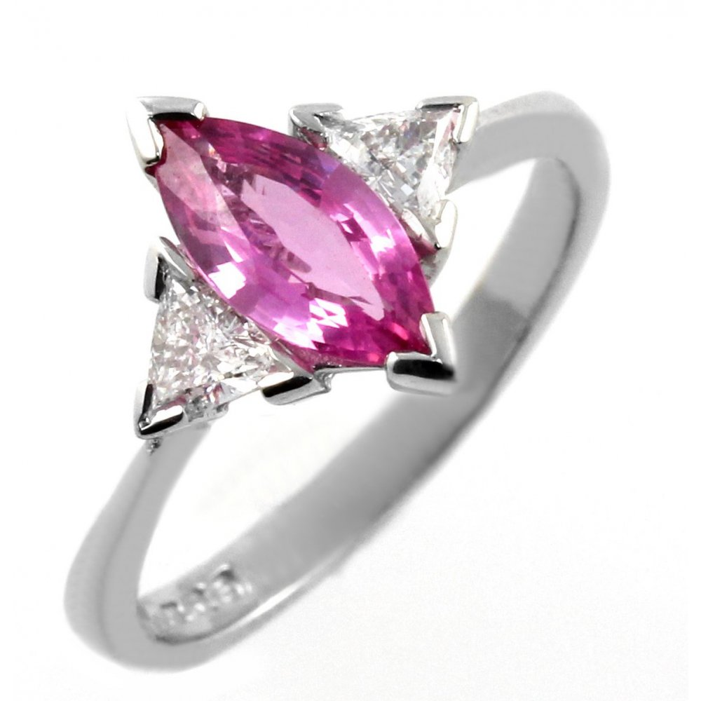 gold of sapphire in ring white pink diamond tw carat diamonds with